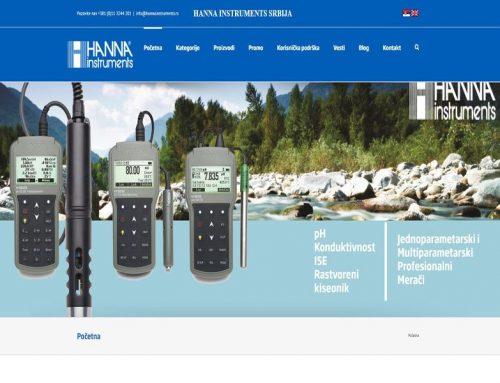 Hanna Instruments Srbija