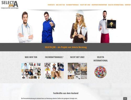 SELECTA JOB – ein Projekt von Selecta Beratung