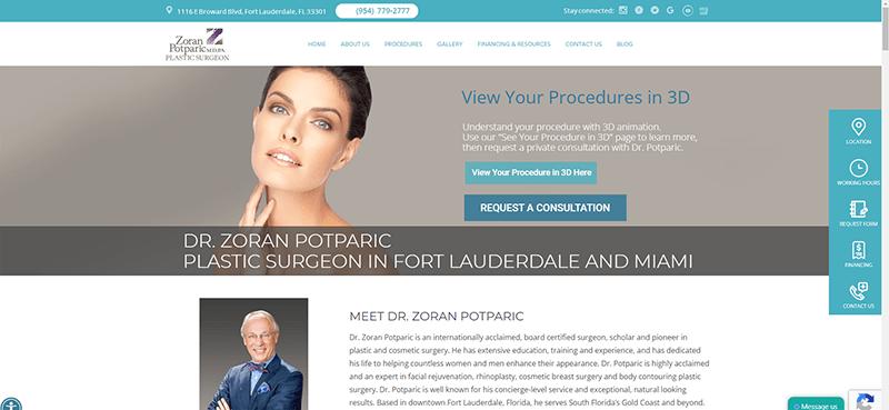 izrada web sajta dr zoran